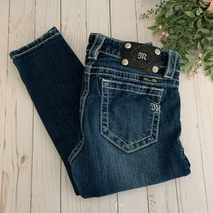 Miss Me Mid Rise Skinny Jeans size 27
